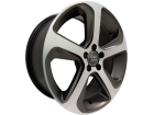 Roda Monacco Audi Q5 MW080 Aro 17 5x112 Grafite Semi Brilho Diamantado