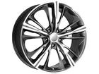 Roda KR R55 Réplica BMW Série 4 Aro 18x7 4x100 Grafite Diamante ET40