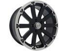 Roda Black Rhino Sidewinder Aro 20x8,5 5x127 Preto Semi Brilho Diamantado