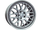 Roda Los Angeles Aro 19x8.5 5x120 ET 35 Prata Ride Wheels