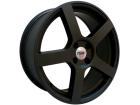 Roda TSW Panorama Aro 17 5x114 Preto Fosco