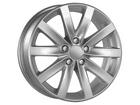 Roda KRmai R27 VW Jetta 2013 Aro 17X7 4X100 Silver Star ET40