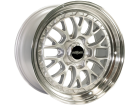 Roda Rotiform LSR Aro 19x10 5x112 ET 25 Silver/Machined Lip