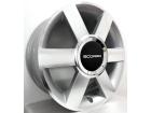 Roda Audi A3 Turbo Aro 14 x 5,5 4x100/4x108 Scorro S181 ET36 Prata Diamantado