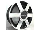 Roda Audi A3 Turbo Aro 14 x 5,5 4x100/4x108 Scorro S181 ET36 Preto Diamantado