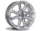 Roda Gol G5 G6 Aro 14 x 5,5 4x100 Scorro S205 ET36 Prata Diamantado VW