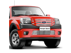 Sobre Grade Aço Inox Ford Ranger 10/12 Superior + Inferior Filetes 4x4