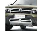 Sobre Grade Aço Inox Renault Duster 11/15 Fusion Com logotipo Inferior