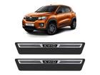 Soleira Premium Aço Escovado para Renault Kwid