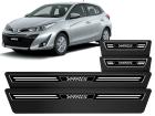 Soleira Premium Elegance 4P Toyota Yaris 2018/..
