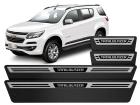 Soleira Premium Trailblazer 2013/.. Aço Escovado