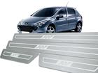 Soleira Standard Peugeot 307 Aço Inox Standard