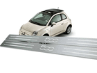 Soleira Standard Fiat 500 Aço Inox Standard