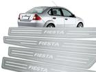 Soleira Standard Ford Fiesta 02/14 Aço Inox Standard