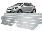 Soleira Standard Hyundai HB20 Aço Inox Standard