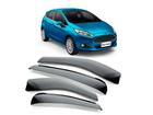 Calha de Chuva para New Fiesta Hatch 11/19 Modelo Super Calha Fumê