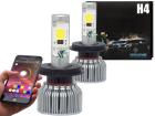 Lâmpada Super Led RGB H4 6000K 24W / 36W 7400 lm 12V / 24V
