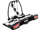 Transbike Thule VeloSpace Rack Suporte de Engate Reboque para 3 Bicicletas Inclinável com Trava e Chave OneKey
