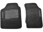 Tapete Carpete Chevrolet S10 Cabine Simples 12/16 Grafite Eloin 2 pçs - Ecotap