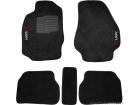 Tapete Carpete Mitsubishi L200 Sport 00/11 Preto Eloin 5 pçs - Ecotap