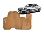 Tapete Carpete Mercedes Benz C180 13/.. Bege 5 pçs