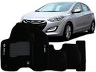 Tapete Carpete Hyundai i30 CW 2009/.. Preto 5 Peças