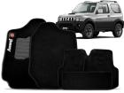 Tapete Carpete Suzuki Jimny Preto 5 Peças