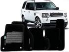 Tapete Carpete Land Rover Discovery 13/.. Preto 5 pçs