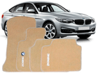 Tapete Carpete Bege BMW 320i 2012/.. 5 Peças
