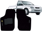 Tapete Carpete Pick-Up Corsa 94/02 Preto 2 pçs