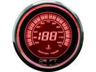 Termômetro de Água Drift Performance Iridium 52mm Luz Vermelha