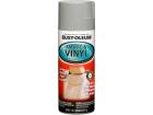Tinta Spray Bancos Tecido Couro Vinil Rust Oleum Vinyl & Fabric Cinza 312g