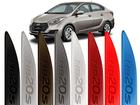 Friso Lateral Pintado Hyundai HB20S - Grafia Baixo Relevo