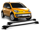 Rack Travessa de Teto para Volkswagen Up Cross - Projecar Preto Largo